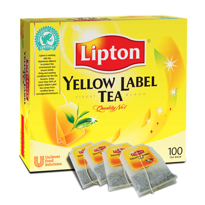 Lipton Yellow Label Tea Bags - Zuppa Malaysia - Your Best Office Buddy